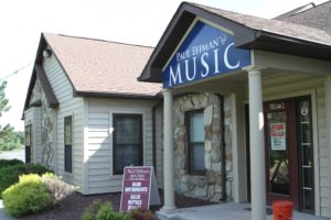 Paul Effman Music Store Front in Lagrangeville, New York