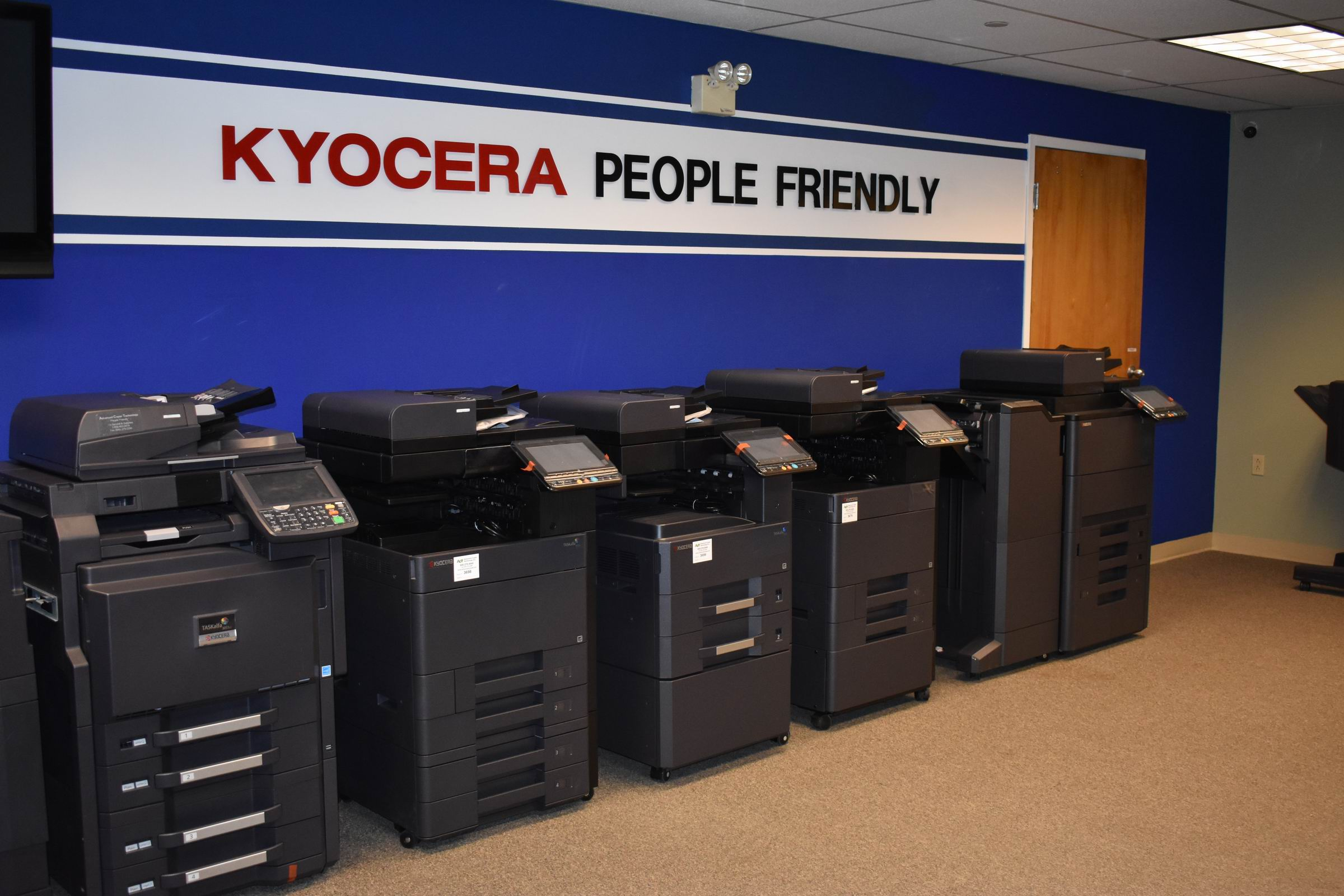 Brewster Kyocera Showroom
